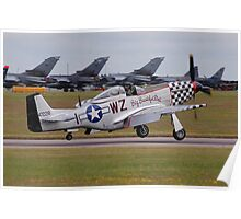 Big Beautiful Doll P-51D Mustang Poster