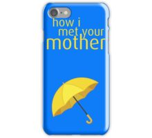 How I Met Your Mother - Yellow Umbrella iPhone Case/Skin