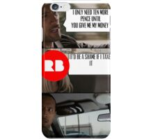Redbubble and Tax iPhone Case/Skin
