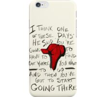 The Catcher in the Rye - Holden's Red Hunting Cap iPhone Case/Skin