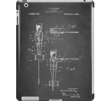 Toy Soldier Patent 1921 iPad Case/Skin