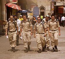Israeli Soldiers by Shannon Friel
