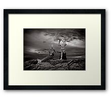 The Prince and the mermaid Framed Print