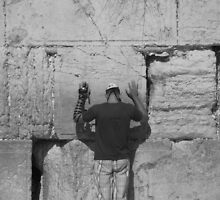 The Western Wall Jerusalem by Shannon Friel