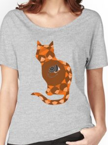 Nesting Doll Cat Women's Relaxed Fit T-Shirt