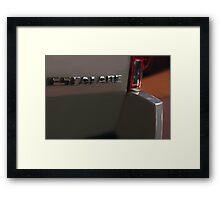 Cadillac Escalade (Back) Framed Print