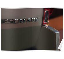 Cadillac Escalade (Back) Poster