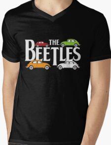 The Beetles Mens V-Neck T-Shirt
