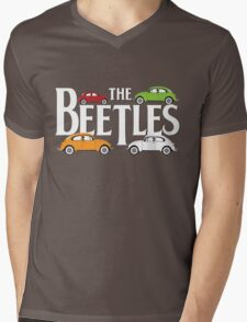 The Beetles Mens V-Neck T-Shirt
