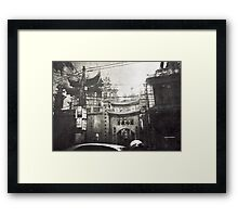 tradition electrified Framed Print