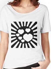 RAYS OF LIGHT-2 Women's Relaxed Fit T-Shirt