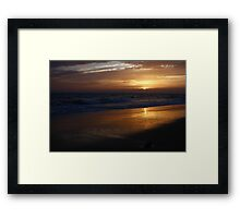 Bright Light ~ Bright Night Framed Print