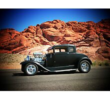 1929 Model-A/ Red Rock Las Vegas! Photographic Print