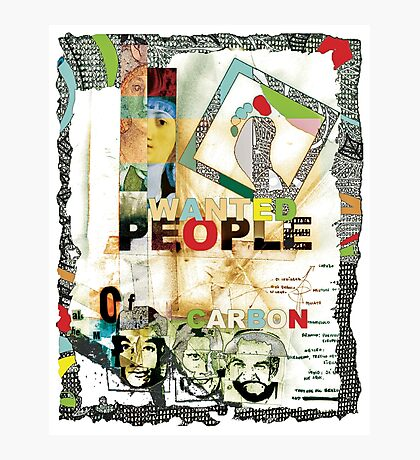 People of Carbon. Photographic Print