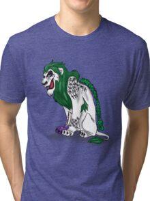 Scar as Joker Tri-blend T-Shirt