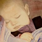 Sleeping Baby by Marie Luise  Strohmenger