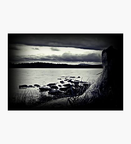All The Elements At Lake Mentieth. Photographic Print