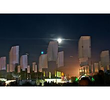 Festival Moonrise Photographic Print