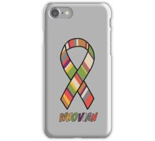 Whovian Awareness iPhone Case/Skin