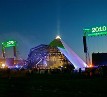 The Pyramid Stage @ 40 by Ruth Quinn