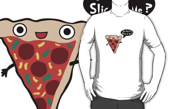 Pizza Monster by Andi Bird