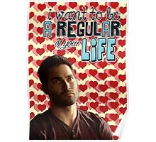 Season 5 Teen Wolf Greeting Cards [Derek] Poster