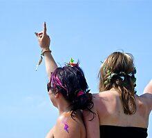 Festival friends by Ruth Quinn