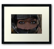 """ Hungry Eyes "" Framed Print"