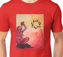 Babalon - the red mother goddess Unisex T-Shirt