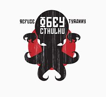 Refuse Tyranny, Obey Cthulhu Men's Baseball ¾ T-Shirt