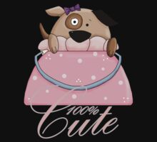 100% Cute T Shirt With Puppy Dog Purse Pet by Moonlake