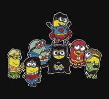 Justice League of Minions One Piece - Long Sleeve