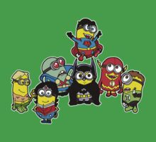 Justice League of Minions Kids Tee