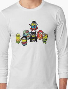 Justice League of Minions Long Sleeve T-Shirt