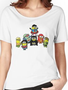 Justice League of Minions Women's Relaxed Fit T-Shirt