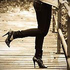 Kick up your heels by Erica Sprouse