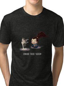 Chibi Yasuo Tri-blend T-Shirt