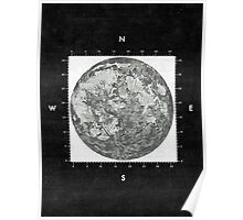 Moon Scale II Poster