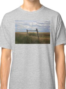 Fence Post and Hills Classic T-Shirt