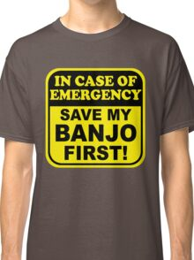 Banjo Emergency Classic T-Shirt