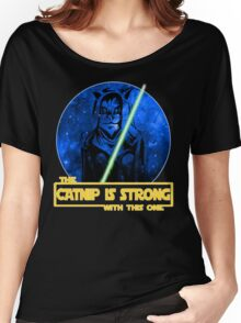 Catnip Is Strong With This One Women's Relaxed Fit T-Shirt