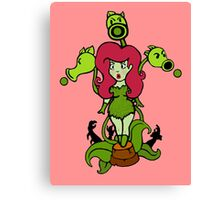 Ivy vs Zombies Canvas Print