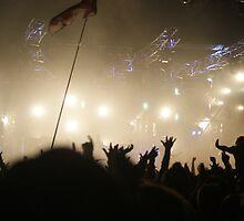 Crowd @ Glastonbury 2010: Groove Armada (II) by Ruth Quinn