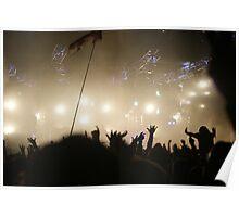 Crowd @ Glastonbury 2010: Groove Armada (II) Poster