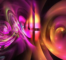 Curling tubes and swirls by walstraasart