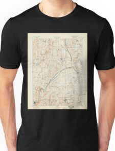 Massachusetts  USGS Historical Topo Map MA Barre 352452 1894 62500 Unisex T-Shirt