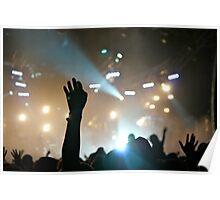 Crowd @ Glastonbury 2010: Groove Armada (III) Poster