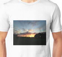 Wild sunset  - Derry Ireland  Unisex T-Shirt