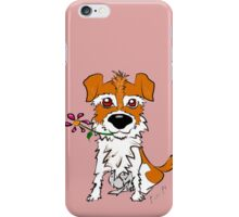 JACK RUSSELL PUPPY DOG CIAKY ROCK iPhone Case/Skin