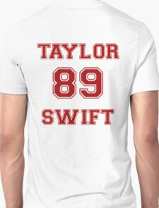 TAYLOR 89 SWIFT RED T-Shirt